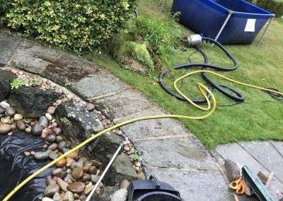 Cobble pond clean Angmering