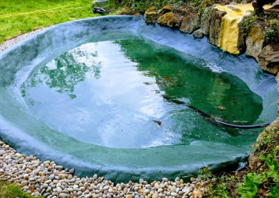Fibreglass pond Findon