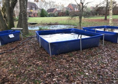 Pond cleaning tanks Duncton